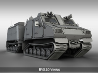 BAE BVS10 Viking 3D Model