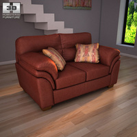 Ashley Hudson – Chianti Loveseat 3D Model