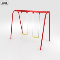 Two Swing Seats 3D Model