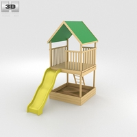 Swing Set Kit 3D Model