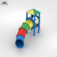 Tube Slide Swing 3D Model