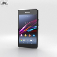 Sony Xperia E1 White 3D Model