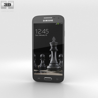 Samsung Galaxy S4 Mini Black Edition 3D Model